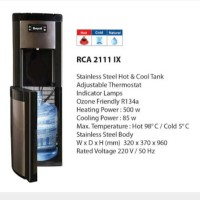 harga dispenser Royal Rca 2111 ix Tokopedia.com