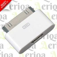 Converter Adapter MicroUSB To Apple 30 Pin - IPhone 4, IPad, Etc