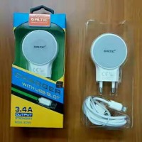 Charger ALTIC DL-AC66 3.4A Iphone 5 (Dual USB) Fast Charging
