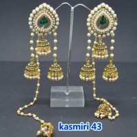 ANTING INDIA PANJANG / KHASMIRI EARRING 43