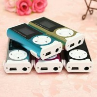 Mini MP3 Player TF Card with LED Flashlight