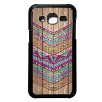 case casing samsung galaxy j2 hardcase motif batik kayu chevron 15