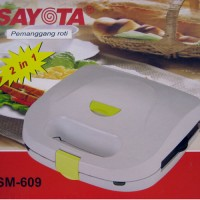 harga Toaster And Waffle Maker Sayota Sm-609 2in1 Tokopedia.com