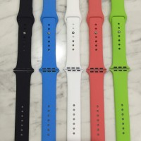 harga Silicone Strap Apple Watch Sport Band 42mm 38mm Watchband Tali Jam 38 Tokopedia.com