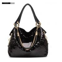 harga Tas Tangan Tote Fashion Wanita Korea Import Hitam Kilat Pergi Mall Dll Tokopedia.com