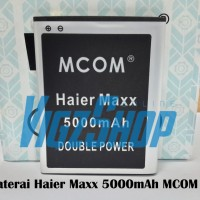Baterai Battery Smartfren Haier Maxx 5500mAh MCOM Double Power