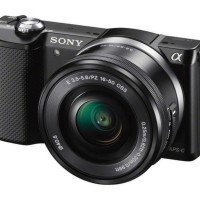 Sony Alpha A5000 Kit 16-50mm Black - PROMO MENARIK