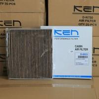 Jual Ken Filter D-6933 CP Filter AC Datsun Go Plus, Go Panca Warna Cokelat Murah