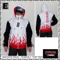 Jaket Anime Naruto - Yondaime Hokage - Putih Hitam