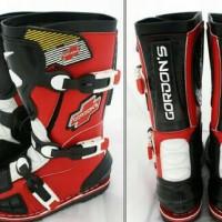 harga Sepatu Cross Gordons Merah Tokopedia.com