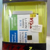 Baterai Batere Batre Double Power Vizz Bl208 Lenovo S920 A690e A5800d