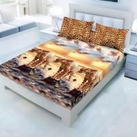 Sprei Kintakun Luxury Cheetah 180x200 Tinggi 25cm
