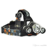 Senter Kepala / T6 High Power Headlamp Cree XM-L T6 5000 Lumens