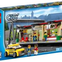 harga LEGO City # 60050 Train Station Series New Original Segel Tokopedia.com