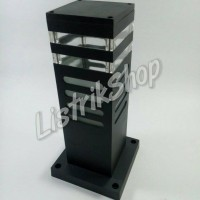 harga Lampu Taman Kotak 30cm - Ht096 Tokopedia.com