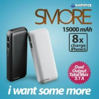 Jual PowerBank HIPPO SMore 15.000mAh - Power Bank HIPPO Original Garansi Murah