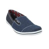 Jual sepatu catenzo karet denim dark blue Murah