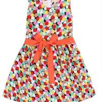 Chloe's Clozette Dress Anak- DA-09- Multi color