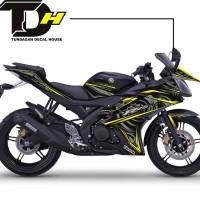 Decal Printing / Striping Yamaha R15 - Black Techno 2