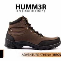 Sepatu Boots Hummer Adventure Athena Brown