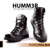 Sepatu Boots Hummer Pluto Black
