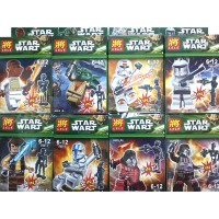 mainan lego star wars merk lele bricks blocks starwars action figure