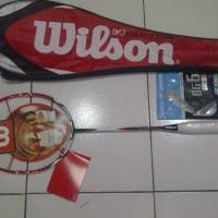 harga Raket Badminton Wilson Kfaktor Merah Limited Edition Tokopedia.com