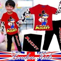Setelan Baju Tidur Mickey Good Quality | Piyama Anak Branded