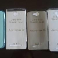ULTRAFIT ULTRA THIN FIT SOFT CASE COVER SMARTFREN ANDROMAX EC Q Qi R