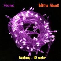 harga Lampu Natal Hias LED Violet Tokopedia.com