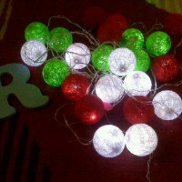 Jual cotton ball light(lampu putih) Murah