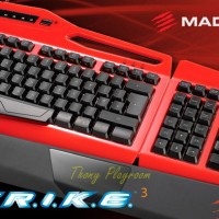 Cyborg Mad Catz S.T.R.I.K.E. 3 Gaming Keyboard PC