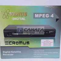 Receiver TV Venus Cromus Mpeg4 Parabola C Band Mp4