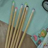 Alat Tulis Sekolah Wooden Pensil Set