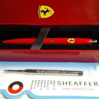 Jual PAKET 1 KLIK: Pen SHEAFFER FERRARI RED VFM BP 1pc+ 1 pcs Refill BP Murah