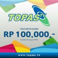 Voucher Topas TV - 100rb