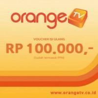 Voucher Orange TV - 100rb