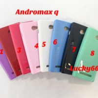 Silikon andromax q soft case smartfren andromax g