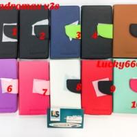 Wallet Executive Andromax V3s Case Smartfren V3s Case Andromax V3 S