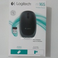 MOUSE WIRELESS LOGITECH M165, WIRELESS MOUSE LOGITECH M165