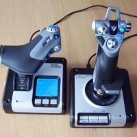 SAITEK X52 Flight Control System (Simulator Pesawat)