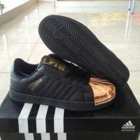 harga Sepatu Running Sport Adidas Superstar Metal Black For Women Tokopedia.com