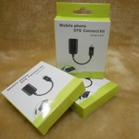 Kabel Micro USB OTG (On-The-Go) untuk Semua Android / HP Yg Support OTG