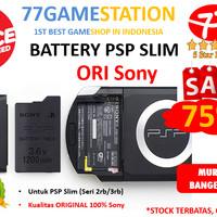 Battery / Baterai / Batere PSP SLIM 2000/3000 ORIGINAL >>> TERMURAH