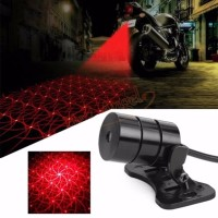 Anti-Collision Car Cool Pattern End Rear Tail Fog Driving Laser