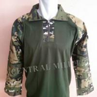 harga Combat Shirt/ Kaos BDU Loreng Army 1 Tokopedia.com