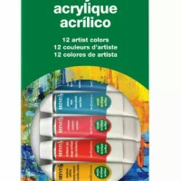 Reeves Acrylic 12 Warna