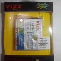 Baterai/Batre Vizz Smartfren Andromax U Limited Edition / LE Garansi