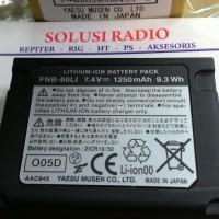 BATERAI FNB-80LI FOR YAESU VX-5R/6R/7R LI-ION 1250 MAH MADE IN JAPAN