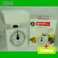 Timbangan Kue Royal Scale 2 Kg Lionstar